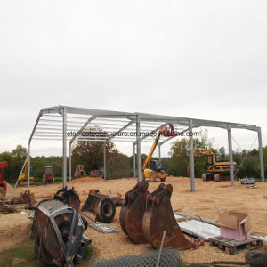 Light Structural Steel Frame Construction Warehouse Building pictures & photos