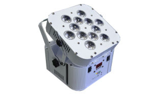 12*18W LED PAR Cans Light RGBWA+UV 6 in 1 DMX Wireless Battery PAR Light for Disco DJ Stage Lighting Equipment pictures & photos