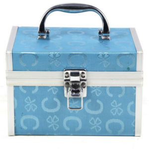 Manufactures Aluminium Portable Household Makeup Train Vanity Case pictures & photos