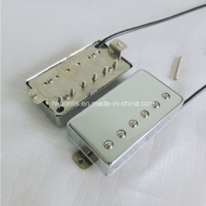 Great Quality AlNiCo Lp Guitar Pickup with Nickel Silver Baseplate pictures & photos