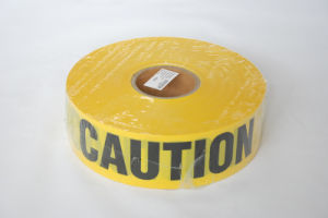 Yellow Plastic PE Caution Tape (YYT-010) pictures & photos