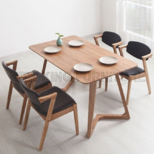 Simple European Dining Room Furniture Dining Table (NK-DTB084) pictures & photos