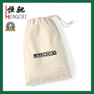 Natural Color Cotton Canvas Drawstring Bag for Jewellry pictures & photos