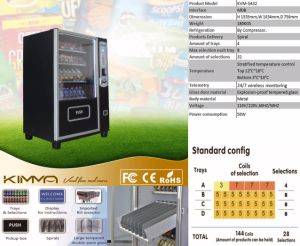 Small Vending Machine with 4 Trays 32 Selections at Max pictures & photos