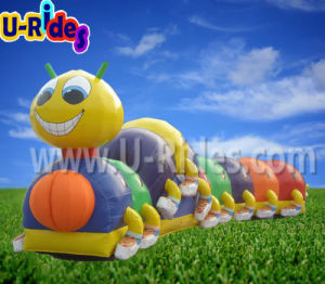 Fruit worm Inflatable Tunnel game for Children pictures & photos