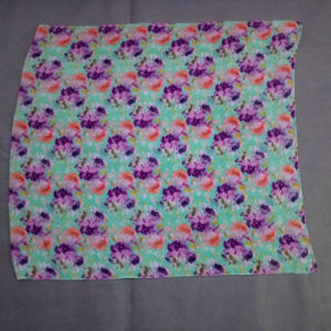 The New Flowers Printed Voile Scarf