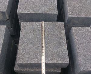 G684 Black Granite Stone Paving for Project pictures & photos