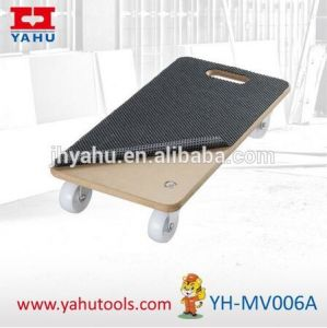 Anti-Slip Round Dolly Truck Platform Removals Trolley (YH-MV006A) pictures & photos