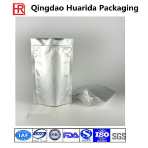 Stand up Ziplock Aluminum Foil Packaging Bag with Zipper pictures & photos