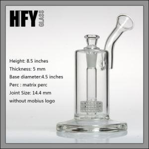 Glass Pipe Mobius Glassworks Ion Bubbler with Matrix Perc Shisha Hookah Borosilicate pictures & photos