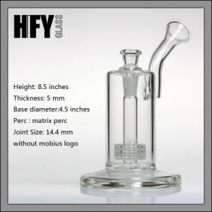 Glass Pipes Mobius Glassworks Ion Bubbler with Matrix Perc Shisha Hookah Borosilicate Glass Smoking Pipe Glass Bongs pictures & photos