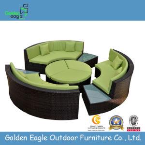 New Indoor/Outdoor Patio Sectional Round Sofa (S0136)
