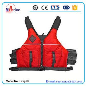 Red Color PVC Foam Nylon Paddlesports Vest pictures & photos