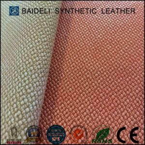 Anti-Friction PVC Artificial Leather Fabric for Sofa/Furniture/Bags Upholstery pictures & photos