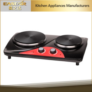 Double Burner Electric Hotplate Es-3206 Electric Hob pictures & photos