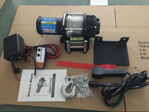 Electric Winch 4X4 Recovery 12V/24V 4500lb pictures & photos
