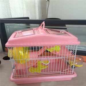 Deluxe Pink Castle Hamster Cage Cage Pet Hamster Cage pictures & photos