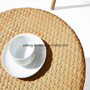 PE Rattan Outdoor Furniture 3 PCS Patio Coffee Table Set with Reasonable Price pictures & photos