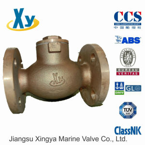 Marine Bronze Lift Check Valve JIS F7415 5k pictures & photos