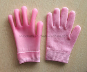 Supple Skin SPA Moisturizing Soften Beauty Cotton Gel Gloves pictures & photos