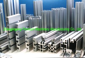 Suqare Profile Plm-Lqe400 Series Aluminum Profile Cutting Machine pictures & photos