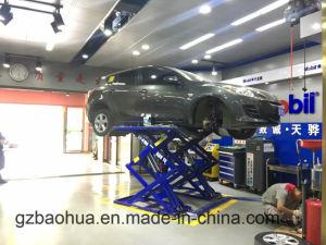 Super-Thin Scissor Car Lift for Wheel Alignment pictures & photos
