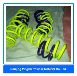 Neon Yellow Powder Coating Over Polished Aluminum pictures & photos