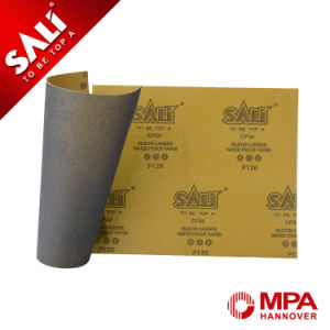 Cp34 Silicon Carbide Kraft Paper Metal Polishing Abrasive Sanding Paper pictures & photos