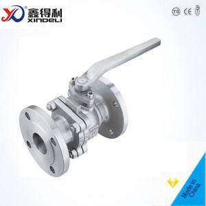 Manufacturer API Flanged Casted Steel Floating Ball Valve pictures & photos