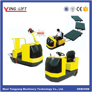 Good Quality Standing Electric Towing Tractor pictures & photos