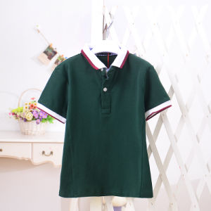 Kids Polo Tshirt Short Sleeve for Summer pictures & photos