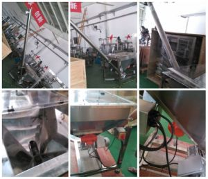 Factory 304 Stainless Steel 400L Automatic Hopper Screw Feeder Price pictures & photos