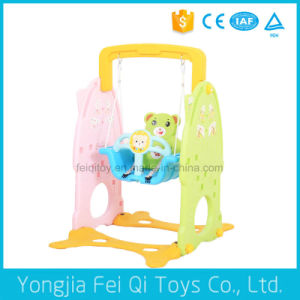 Indoor Playground Plastic Multifunctional Swing for Kids Q Series pictures & photos