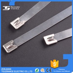 Anti-Corrosion Ss304 Ss316 Stainless Steel Cable Ties Wire Strap