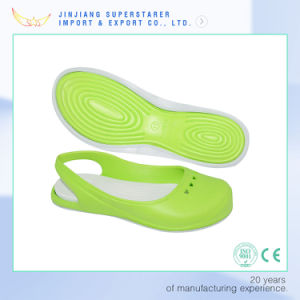 Woman EVA Sandals, Simple Color PVC Sandals pictures & photos