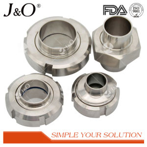 Sanitary Stainless Steel Union Tube Pipe Fittings Thread Liner pictures & photos