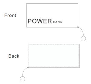 Portable Charger 4000mAh Power Bank Universal Travel Charger pictures & photos