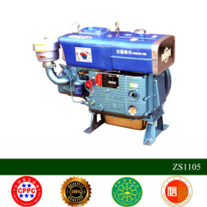 Zs1105 Hand Start Diesel Engine Made in China