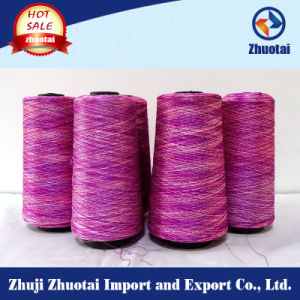 Polyester Space Dyed Jersey Fabric Yarn pictures & photos