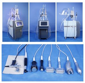 9 in 1 Oxygen Hydrafacial Therapy Beauty Facial Machine for Sale Facial Peeling pictures & photos