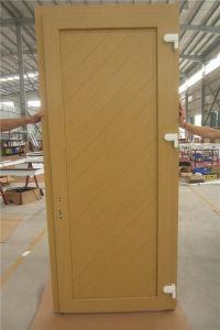 PVC Bathroom Door Price, Wooden Single Main Door Design pictures & photos