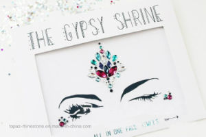 2017 New Arrival Eye Eyebrow Sticker Face Skin Crystal Tattoo Diamond Sticker for DIY (TS-040) pictures & photos