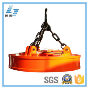 1ton Electro Crane Lifting Magnet for Steel Scraps pictures & photos