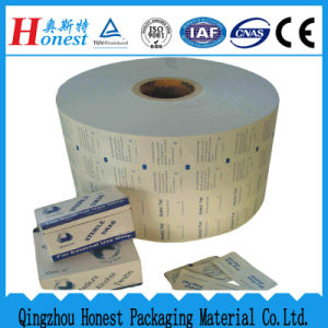 Aluminium Foil Paper for Lence Cleaning Wipe, Alcohol Swab, etc. pictures & photos