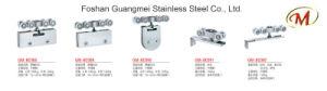 Stainless Steel Upper Clip Glass Door Hinge pictures & photos