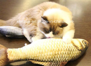2017 New Highly Recommended Pet Plush Stuffed Cat Toy with Catnip (KB3009) pictures & photos