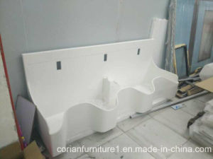 Non Toxic Acrylic Solid Surface Hospital Hand Washing Basin pictures & photos