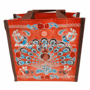 PP Woven Bag with Laminated for Shopping/Packaging Purpose pictures & photos