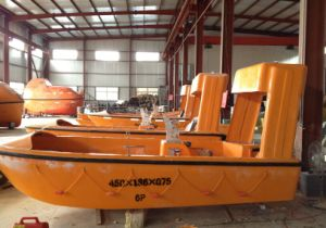 6 Persons FRP Rescue Boat with Outboard/Inboard Diesel Engine pictures & photos
