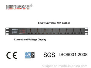 Power Strip PDU with 8 Circuit Universal Socket (XP-1U-B2HQ8LH) pictures & photos